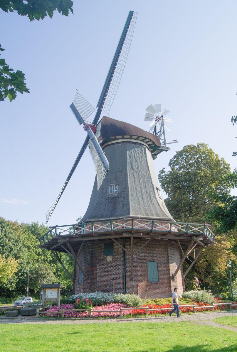 Die Kopperhörner Mühle in Wilhelmshaven